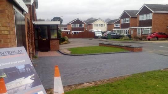 Standard Block Paving Driveway Stourport on Severn